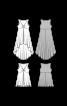 Сукня трикотажна силуету ампір з асиметричним низом - фото 3