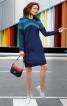 Сукня розкльошена з кишенями у швах - фото 1