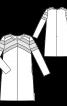 Сукня розкльошена з кишенями у швах - фото 3