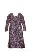 Розкльошена сукня з асиметричним низом - фото 2
