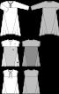 Сукня максі з клинами годе - фото 3
