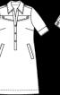 Сукня-сорочка із застібкою поло - фото 3