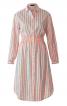 Сукня-сорочка з призбореним вшивним поясом - фото 2