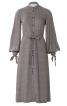 Сукня сорочкового крою з розкльошеною спідницею - фото 2