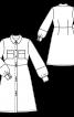 Сукня відрізна зі спідницею А-силуету - фото 3