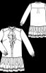 Сукня сорочкового крою з пишною спідницею - фото 3