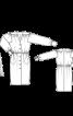 Сукня-сорочка з пишними рукавами і поясом - фото 3