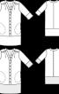 Сукня лляна сорочкового крою - фото 3