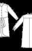 Сукня-сорочка з відлітними деталями - фото 3