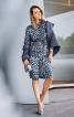 Сукня-сорочка з рукавами реглан-погон - фото 1