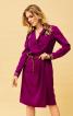 Сукня сорочкового крою із запахом - фото 1