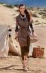 Сукня сорочкового крою з коміром-стійкою - фото 1