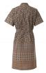 Сукня сорочкового крою з коміром-стійкою - фото 4