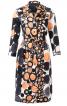 Сукня-сорочка зі складками на спідниці - фото 2