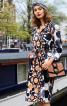 Сукня-сорочка зі складками на спідниці - фото 1