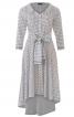 Сукня-сорочка з асиметричною спідницею - фото 2
