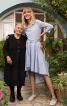 Сукня сорочкового крою з асиметричним низом - фото 1