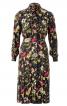 Сукня-сорочка зі спідницею в складку - фото 2