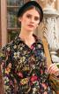 Сукня-сорочка зі спідницею в складку - фото 4