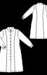 Сукня-сорочка з рельєфними швами - фото 3