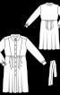 Сукня відрізна сорочкового крою - фото 3