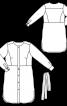 Сукня-сорочка з репсовим ременем - фото 3