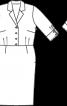 Сукня сорочкового крою з ременем - фото 3