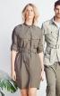 Сукня-сорочка в стилі сафарі - фото 1