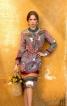 Сукня сорочкового крою з воланами - фото 1