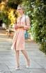 Сукня-сорочка з боковими розрізами - фото 1