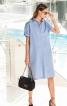 Сукня-сорочка із потайною застібкою - фото 1