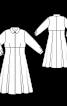 Сукня сорочкового крою силуету ампір - фото 3