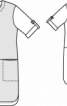 Сукня сорочкового крою з видовженою спинкою - фото 3