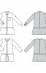 Сукня сорочкового крою із заниженою лінією талії - фото 7