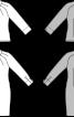 Сукня-сорочка з рукавами реглан-погон - фото 3