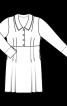 Сукня сорочкового крою у стилі ретро - фото 3