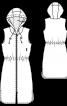 Сукня в спортивному стилі з капюшоном - фото 3