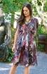 Сукня-туніка з кулісками на плечах - фото 1