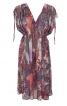 Сукня-туніка з кулісками на плечах - фото 2