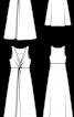 Сукня силуету ампір із драпіровкою-вузлом - фото 3