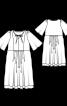 Платье силуэта ампир с кружевом по нижнему краю - фото 3