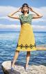 Сукня із завищеною талією і V-подібним вирізом - фото 1