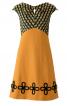 Сукня із завищеною талією і V-подібним вирізом - фото 2