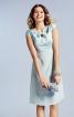 Сукня з драпіровкою біля горловини - фото 1