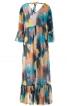 Сукня силуету ампір з оборками і воланом  - фото 4
