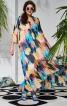 Сукня силуету ампір з оборками і воланом  - фото 5
