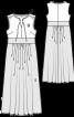 Сукня з вузьким ліфом і пишною спідницею - фото 3