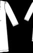 Сукня силуету ампір з рукавами 3/4 - фото 3