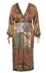 Сукня атласна силуету ампір - фото 2
