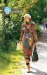 Сукня атласна силуету ампір - фото 1